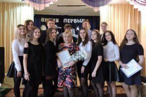 Руководитель музея Отчий дом Берданова С.В. с активистами